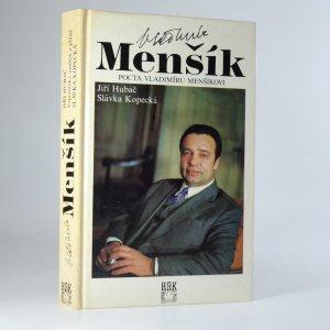 náhled knihy - Vladimír Menšík. Pocta Vladimíru Menšíkovi.