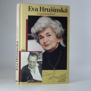 náhled knihy - Eva Hrušínská vzpomíná...