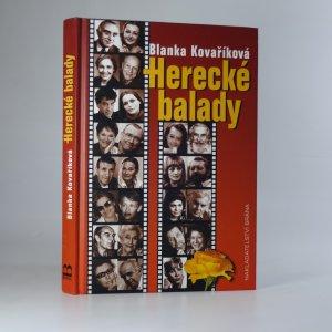 náhled knihy - Herecké balady