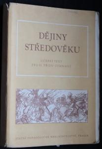 náhled knihy - Dějiny středověku : Učeb. text pro 2. tř. gymn.