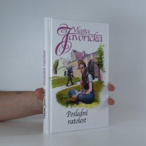 náhled knihy - Poslední ratolest