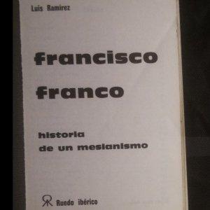 antikvární kniha Francisco Franco. Historia de un mesianismo., 1973