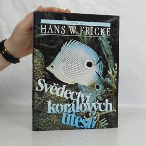 náhled knihy - Svědectví korálových útesů