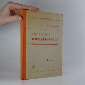 náhled knihy - Výbor z básní Horatiových