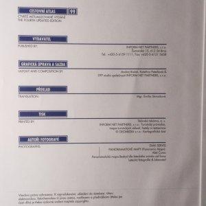 antikvární kniha Cestovní atlas Česká republika, 1999