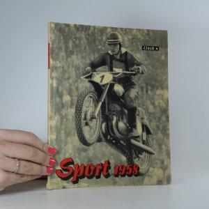 náhled knihy - Sport 1958. Ročník 1. Číslo 4.