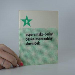 náhled knihy - Esperantsko-český, Česko-esperantský slovníček
