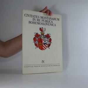 náhled knihy - Civitates montanarum in re publica Bohemoslovenica. Horní města v Československu (soubor heraldických kreseb Jana Čáky s průvodním slovem Jiřího Schenka Scientiae rerum montanarum Pribram)