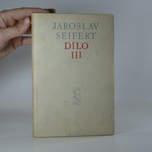 náhled knihy - Jaroslav Seifert. Dílo III 1937-1952.