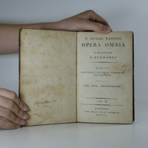 antikvární kniha Opera Omnia E Recensione P. Bvrmanni. Tom. II., 1798