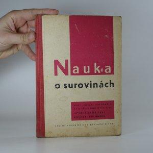 náhled knihy - Nauka o surovinách pro 1. ročník odborných učilišť a učňovských škol