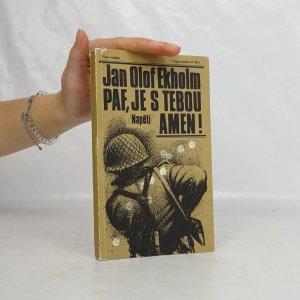 náhled knihy - Paf, je s tebou amen!
