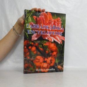 náhled knihy - Zahrádkářská encyklopedie