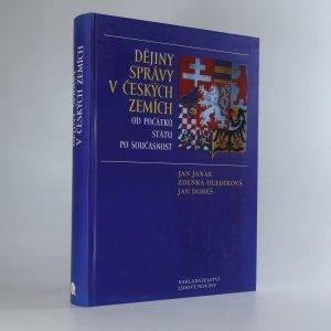 náhled knihy - Dějiny správy v českých zemích