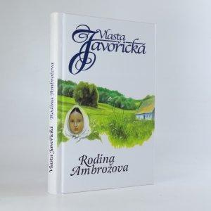 náhled knihy - Rodina Ambrožova