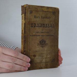 náhled knihy - Řeči, epištoly a evangelia na všecky neděle a svátky katolického roku církevního