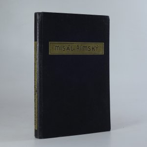 náhled knihy - Misál římský. Řád a modlitby oběti Mše svaté