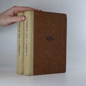 náhled knihy - Luza ve zbrani I.–II. díl (2 svazky)
