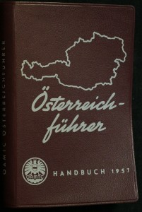 náhled knihy - Reiseführer durch Österreich für Kraftfahrer