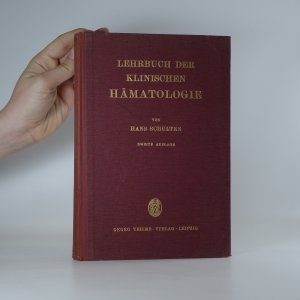 náhled knihy - Lehrbuch der klinischen Hämatologie