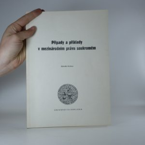 náhled knihy - Případy a příklady v mezinárodním právu soukromém