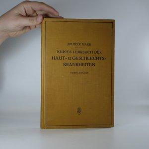 náhled knihy - Kurzes Lehrbuch der Haut und Geschlechts Krankheiten