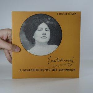 náhled knihy - Z posledních dopisů Emy Destinnové