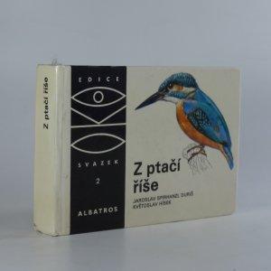 náhled knihy - Z ptačí říše