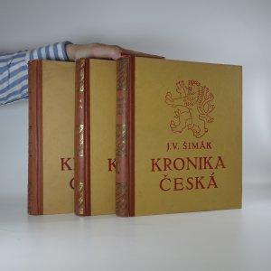 náhled knihy - Kronika česká. (3 díly ve třech svazcích)