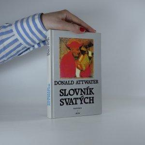 náhled knihy - Slovník svatých