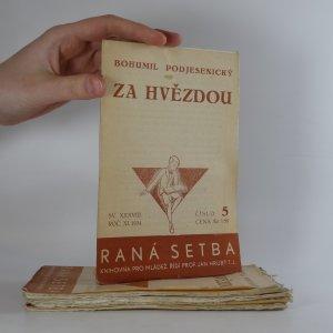 antikvární kniha Za hvězdou (č. 1/1933, 2/1933, 3/1933, 4/1933, 5/1934), 1933, 1934