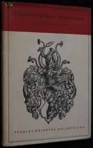 náhled knihy - Úvod do specielní mineralogie se 17 reprodukcemi v textu
