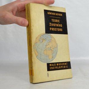 náhled knihy - Teorie životního prostoru