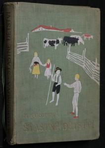 náhled knihy - Šťastné dětství, čtyři veselé děti v létě