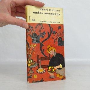 náhled knihy - Umění rovnováhy