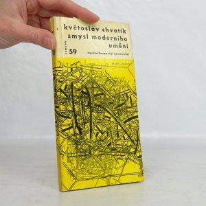 náhled knihy - Smysl moderního umění