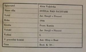 antikvární kniha Světla nad šachtami : [román z hornického prostředí], 1944