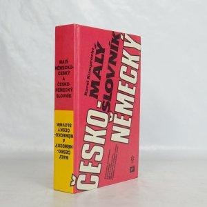 náhled knihy - Malý česko-německý slovník ; Malý německo-český slovník