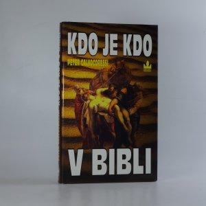 náhled knihy - Kdo je kdo v Bibli