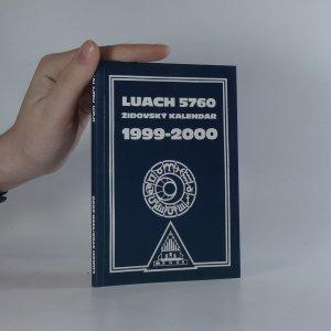 náhled knihy - Luach 5760. Židovský kalendář 1999-2000