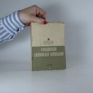 náhled knihy - O dialektickém a historickém materialismu. (Malá knihovna Marxismu-Leninismu sv. 1.)