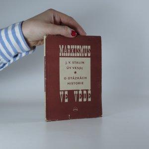 náhled knihy - J. V. Stalin ÚV VKS(b) o otázkách historie