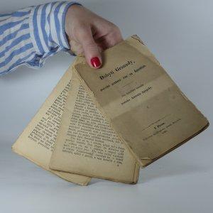 antikvární kniha Dobytí Granady, poslední arabské říše ve Španělích, 1880