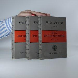 náhled knihy - Anna Karenina (3 díly ve třech svazcích. Spisy IV.-VI.)