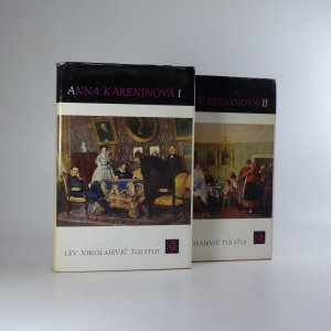 náhled knihy - Anna Kareninová I. - II. (2 svazky)
