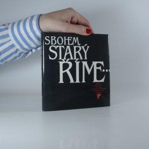 náhled knihy - Sbohem, starý Říme...