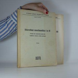 náhled knihy - Stavební mechanika I-III (3 díly ve dvou svazcích)