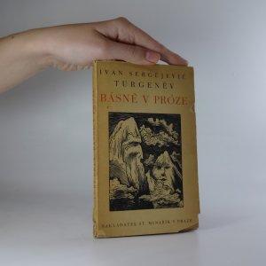 náhled knihy - Básně v próze