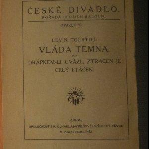 antikvární kniha Vláda temna čili drápkem-li uvázl, ztracen je celý ptáček, neuveden