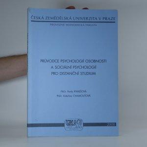 náhled knihy - Průvodce psychologií osobnosti a sociální psychologií pro distanční studium